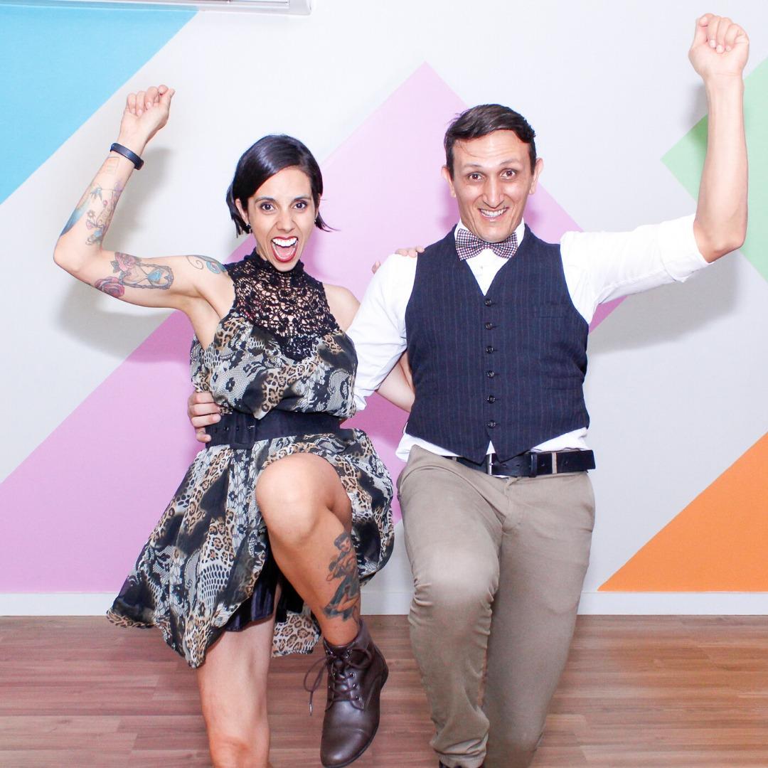 Aline Cortes e Cesar Munhoz